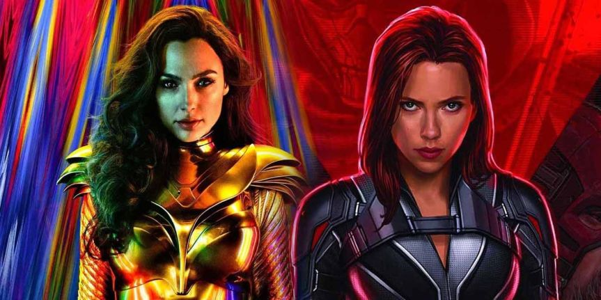 'Black Widow' Offers Smaller Impact Than 'Wonder Woman' on Streaming